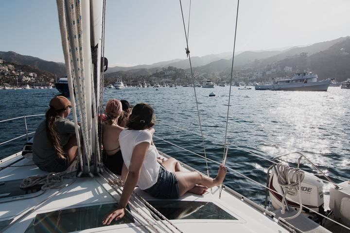 Sailing at Newport