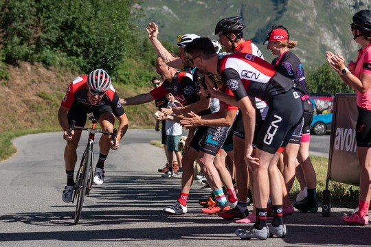 4 days of riding culminating in the GCN KOM Challenge
