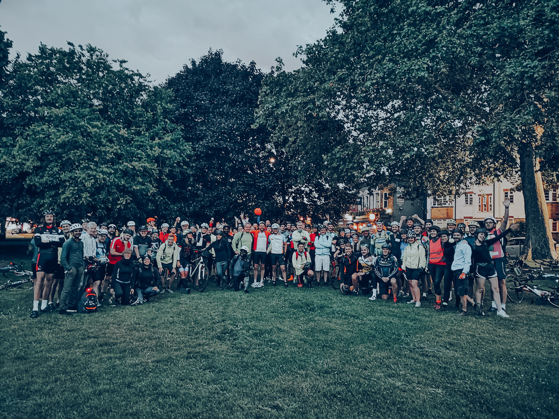 Summer Solstice night ride - London to Hastings