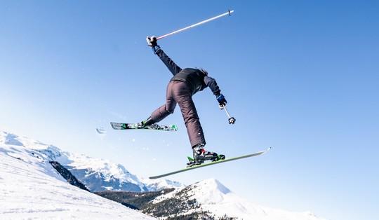 Séjour multisensations aux 2 Alpes avec 3 sorties incluses : freestyle, vitesse &  hors pistes