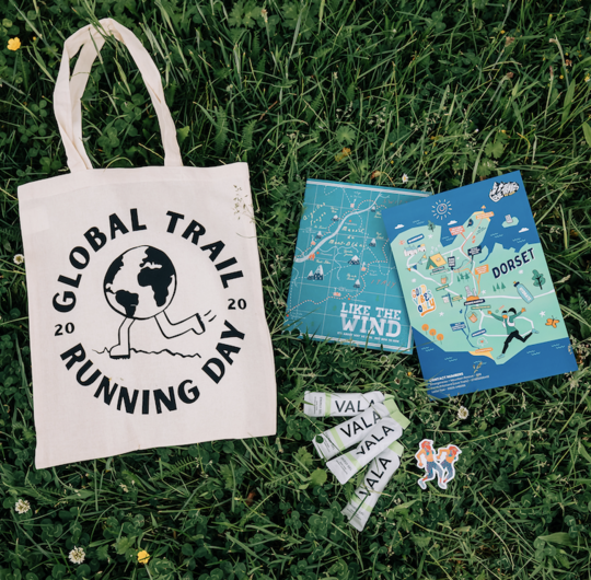 Global Trail Running Day Goodie Bag