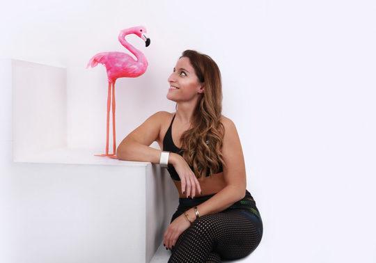 Flamingo Yoga Maya