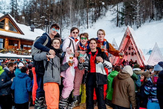 Party week @les 2 Alpes : 5 soirées incluses !