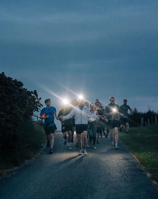 Guided Night Run in the Allt Rhongyr Nature Reserve