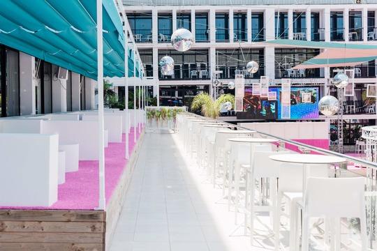Event Balcony Table