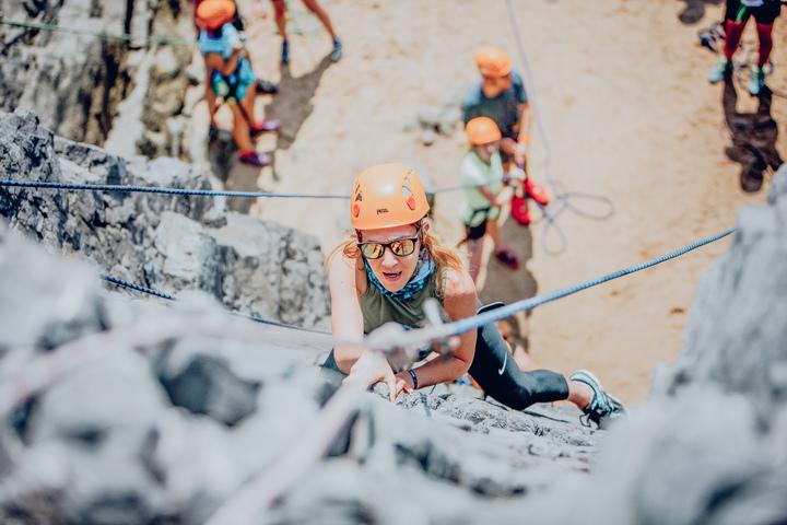 Run to Rock Climbing