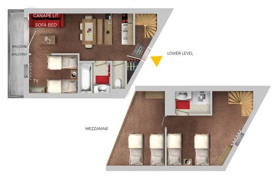 8 Person | 2 Bedrooms