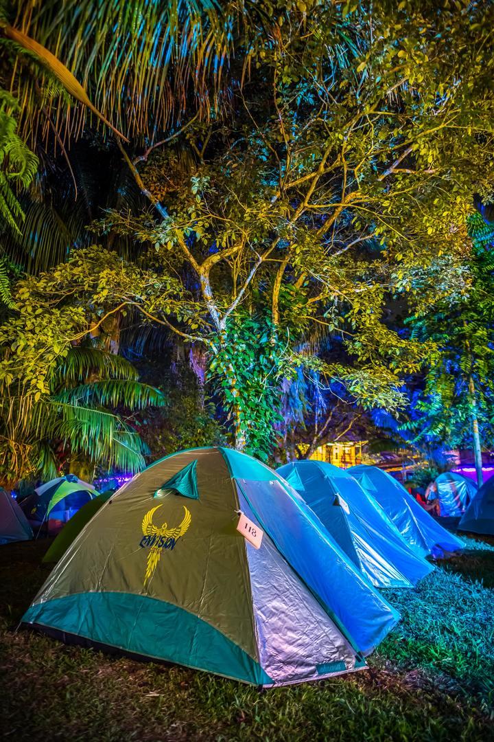 Onsite Camping | Tent Rental | VIP La Sombra
