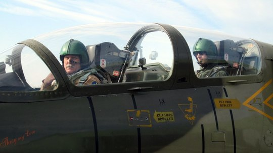 Fly in a Fighter Jet