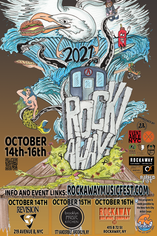 ROCK! AWAY! MUSIC FEST! 11 BANDS FROM NOON TIL 10PM! ANGELO MOORE (OF FISHBONE) • BUTTERBRAIN  • THE BLACK WIDOWS • LOW RATS • SEX RAYS • STRANGE NEIGHBORS • HAYBABY • SOCIAL CREATURES • KARABAS BARABAS • CONTROL THE SOUND • SHADOW MONSTER • YOU WANT MILK