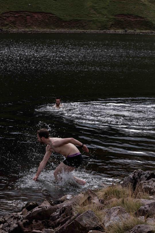 Mountain Lake & Waterfall Wild Swimming