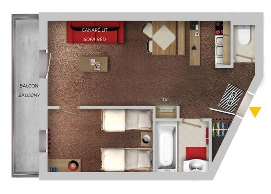 4 Person | 1 Bedroom Comfort