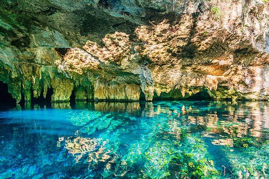 Snorkeling at Grand Cenote + Massage