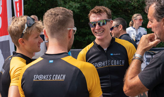 8 week personalised training plan from our coaching partner, Spokes