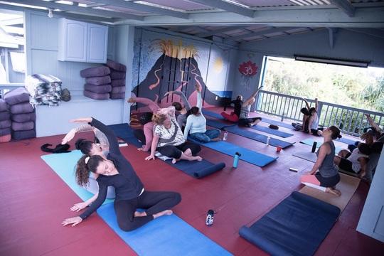 Daily yoga and meditation