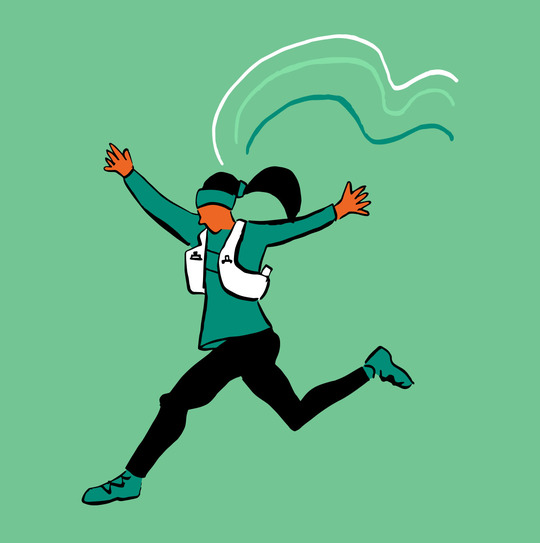 Running changes your brain chemistry to make you a better you