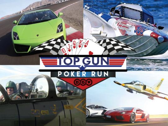 Top Gun Poker Run