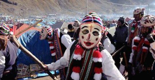 The Celebration of Señor de Qoyllur Riti in Peru